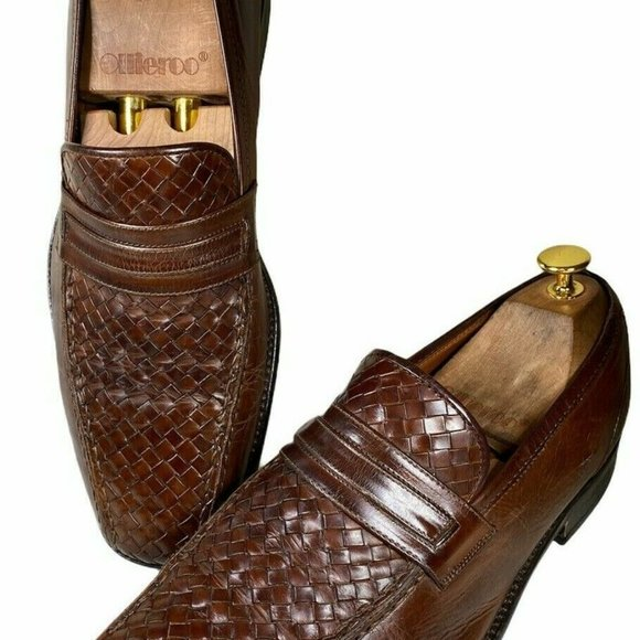 Bostonian Mens Size 9 M Brown Dress Shoes Leather